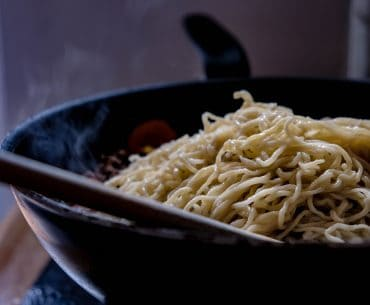 Scratch Made Chinese Style Egg Noodles